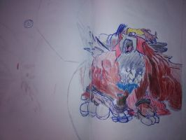 Entei by Martinkarovic