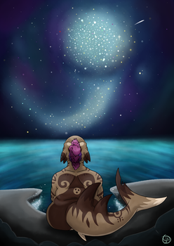 Make a wish - old work by CookieSharkArts