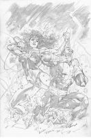 Wonder Woman Commission by pansica