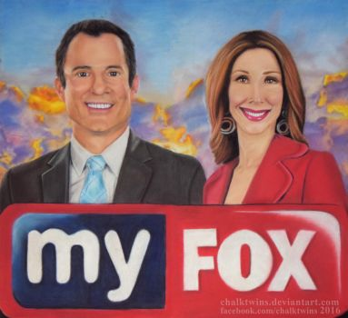 Fox 35 Morning Show by ChalkTwins