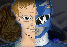 Power Rangers Duality - Billy Cranston by OptimumBuster