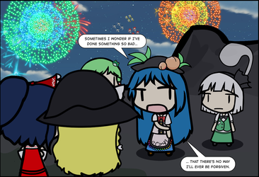 DDC Comic Test Shot: Tenshi's ISC Subplot by Spaztique