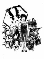 Doctor Who: Children of Time Susan illustration  by RobertHack