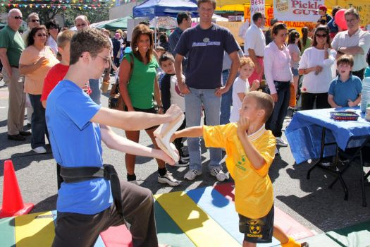 Karate Day at Street Fair 7 by quietstorm2