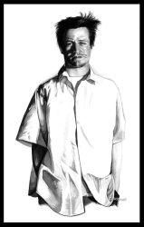 Mike Patton in ink by childproof
