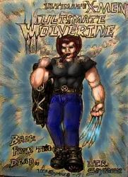 Logan Wolverine in leather jacket colored by LoganTRSeymour