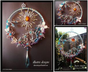 Large floral suncatcher by illustrisdesigns