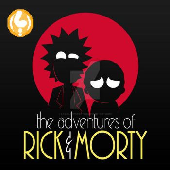 Rick and Morty Adventures by LavaLampCreative