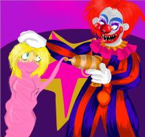 Killer Klowns from Outer Space by MsSavageRedArtist