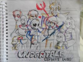 UnderTale Poster | Made By: Toby Fox by Jam-Kaz