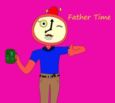 Father Time by CasperNC-is-cool