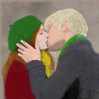 Rose and Scorpius hehe by SaigeSable