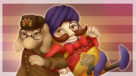 SovietWomble and Cyanide by RomanticallyArtistic