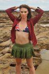Laura - Aussie flag bikini 1 by wildplaces