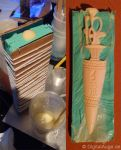 Egyptian artifacts Pesesh-kef wands Replic #3 by digitalAuge