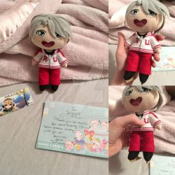 Victor Plushie From ThePlushieLady by Jengogirl