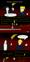 WTf  Issue 10 pg7-Stranded Alchemist by MethusulaComics