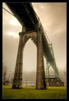 St. Johns Bridge by futureplug