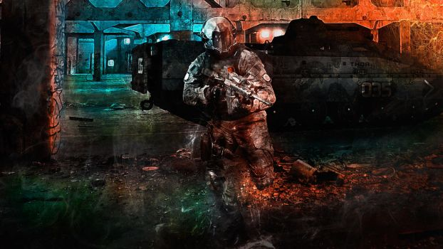 Concept #9: Future Soldier by ioanz