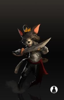 Cait Sith Redesign by soyfreak