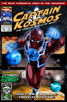 Captain Kosmos Issue 1A by CapitalComicsStudios