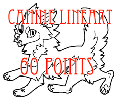 canine lineart - 60 points by levitzky