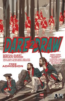 Dare2Draw with Brian Wood @ the  N-YHS by Dare2Draw