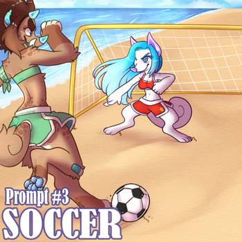 SSF- Prompt #3 (Soccer) by HoshPosh