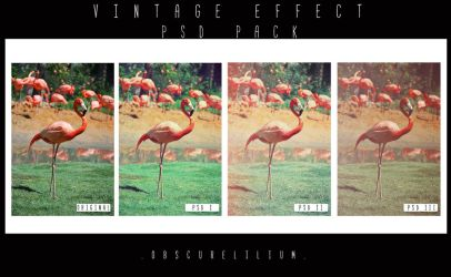 PSD Vintage Effects by ObscureLilium