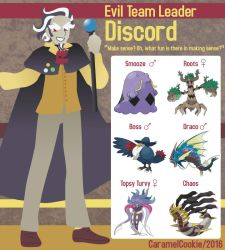 My Little Evil Team Leader - Discord by CaramelCookie