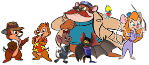 The Rescue Rangers by iamnater1225