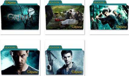 Grimm Folder Icons by nellanel