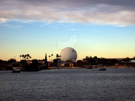 Spaceship Earth From Afar by rjoyhelvie