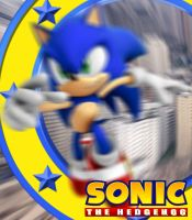 YR11 PhotoshopFilter Task - Official Sonic by DeverexDrawer
