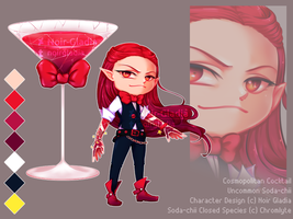 [ADOPT] Cosmopolitan Cocktail Soda-chii [CLOSED] by Noir-Gladia