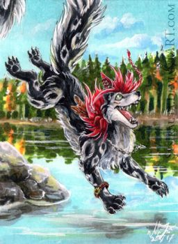 ACEO Jump by Sysirauta