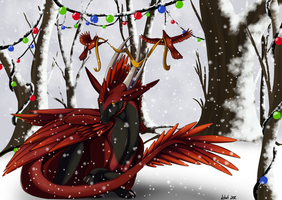 Christmas Card 2012 by LadyDistort