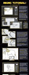 Digital Inking Tutorial by RussianBlues