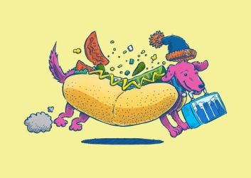 Chicago Dog: Lunchpail by nickv47