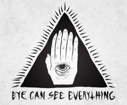 eye can see everything by iknowtheoceanspeaks
