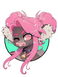 Head Icon Commission by BaphiBitch