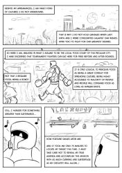 Fighting Tournament: Round 1 - Page 1 by DigiDayDreamer