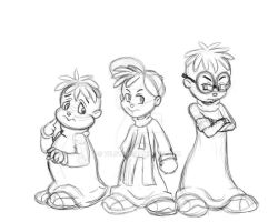 The Chipmunks by vilsy