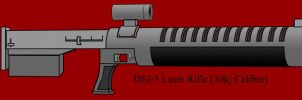 Laser Rifle by Imperator-Zor