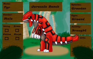 .:PKMNation - Tyr The Groudon NO LONGER OWN:. by Malla123