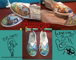 Adventure Time Shoes 2 by GameGoddess33