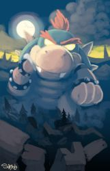 Baby Bowser's Wrath by Samolo