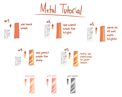 SIMPLE METAL TUTORIAL by TheHumanHeart