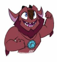 Trollhunters: Haggis is Here for You! by bayepaye