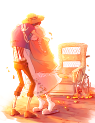 until you're in my arms again, remember me by pokesam